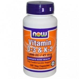 Vitamina D3 1000IU&K-2...